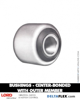 Rubber-Parts-Catalog-Delta-Flex-LORD-Bushings-Center-Bonded-Bushings-with-Outer-Member