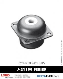 Rubber-Parts-Catalog-Delta-Flex-LORD-Conical-Mounts-J-21100-Series