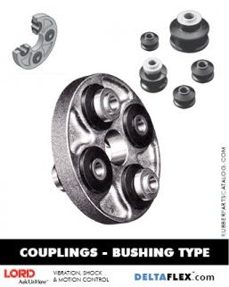 Rubber-Parts-Catalog-Delta-Flex-LORD-DYNAFLEX-Coupling-Bushing-Type
