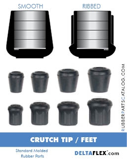 Rubber-Parts-Catalog-Delta-Flex-Standard-Molded-Rubber-Parts-Crutch-Tip-Feet