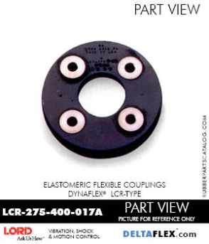 Rubber-Parts-Catalog-Delta-Flex-LORD-DYNAFLEX-Coupling-LCR-Type-LCR-275-400-017A