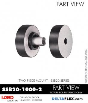 Rubber-Parts-Catalog-Delta-Flex-LORD-Corporation-Two-Piece-Mount-SSB26-1000-2