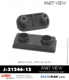 RUBBER-PARTS-CATALOG-DELTAFLEX-Vibration-Isolator-LORD-Binocular-split-Mount-J-21246-12