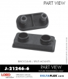 RUBBER-PARTS-CATALOG-DELTAFLEX-Vibration-Isolator-LORD-Binocular-split-Mount-J-21246-6