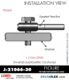 RUBBER-PARTS-CATALOG-DELTAFLEX-Vibration-Isolator-LORD-ROD-ENDS-J-21066-30