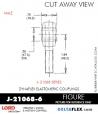 RUBBER-PARTS-CATALOG-DELTAFLEX-Vibration-Isolator-LORD-ROD-ENDS-J-21068-6