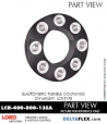 Rubber-Parts-Catalog-Delta-Flex-LORD-DYNAFLEX-Coupling-LCR-Type-LCR-400-800-135A