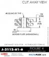 Rubber-Parts-Catalog-Delta-Flex-LORD-Corporation-Grommet-Isolators-with-Threaded-Ferrule-J-3112-61-6