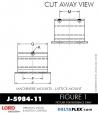 RUBBER-PARTS-CATALOG-DELTA-FLEX-LORD-CORPORATION-VIBRATION-ISOLATER-Machinery-Mounts-LATTICE-MOUNT-J-5984-11