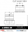 RUBBER-PARTS-CATALOG-DELTA-FLEX-LORD-CORPORATION-VIBRATION-ISOLATER-Machinery-Mounts-LATTICE-MOUNT-J-5984-20