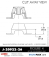 RUBBER-PARTS-CATALOG-DELTAFLEX-Vibration-Isolator-LORD-Small-Industrial-Engine-Mount-J-20922-Series-J-20922-26